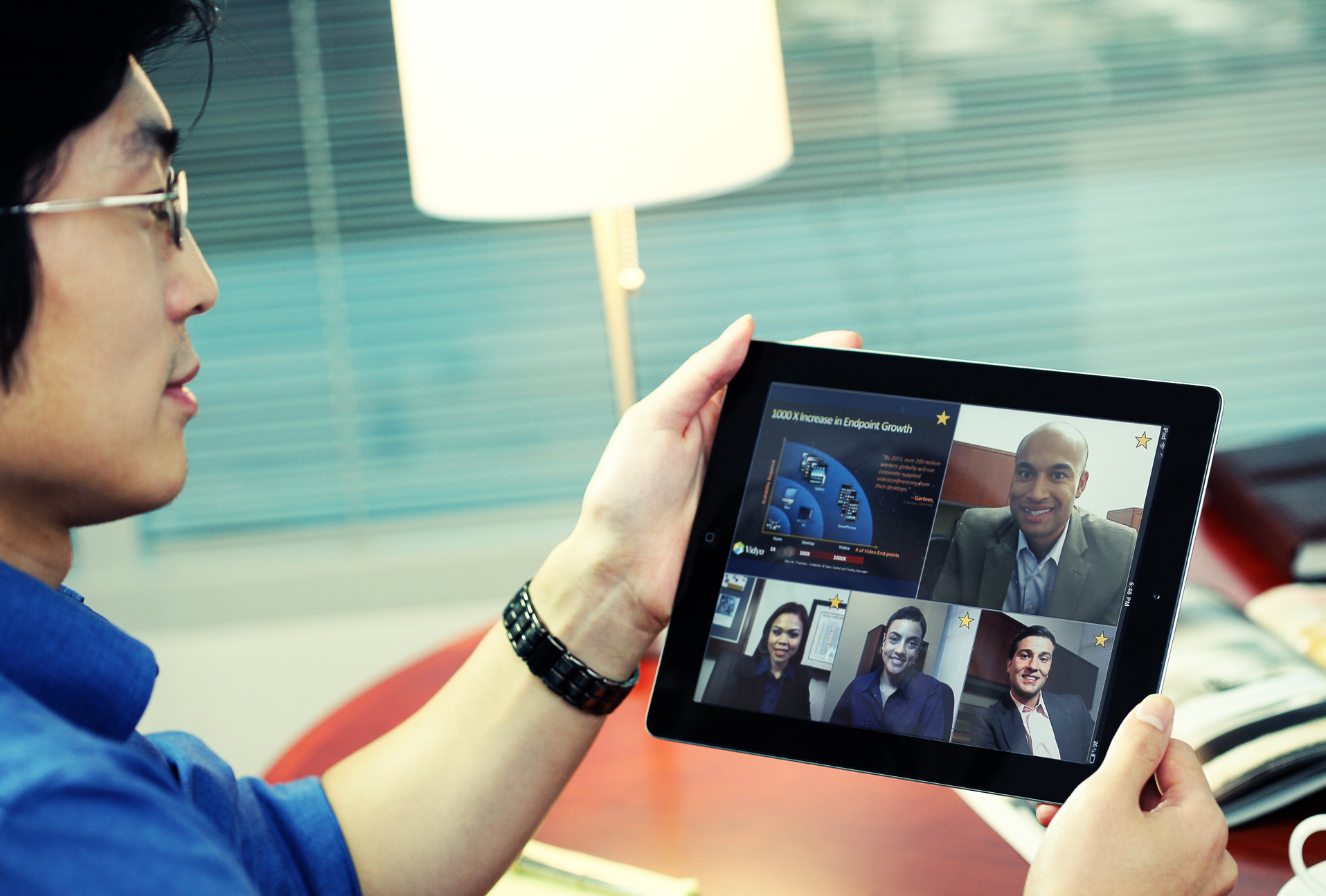 VidyoConferencing on an iPad