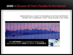 2000 — Discover All That's Possible On the Internet