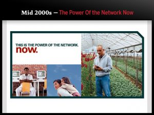 Mid 2000s — The Power Of the Network Now
