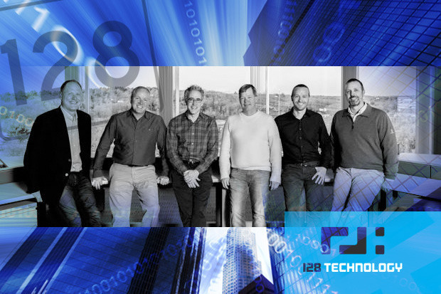 128 Technology management team: Timothy Ziemer, Kevin Klett, Andy Ory, Patrick MeLampy, Michael Baj, Michael O'Malley. Credit: 128 Technology