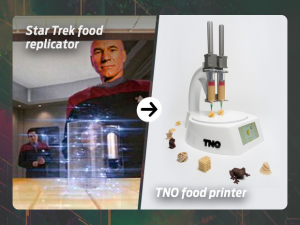 Star Trek food replicator