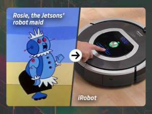Rosie, the Jetsons' robot maid