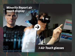 Minority Report air touch display