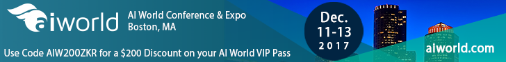 AI World Conference & Expo · Boston, MA · December 11-13, 2017